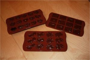 Plaques de chocolats pralinés - final