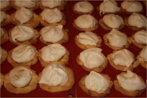 Mini tartes au citron meringuées