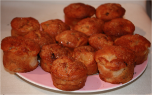 Muffins Poire - Chocolat