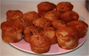 Muffins Poire - Chocolat