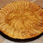 Tarte fine aux pommes