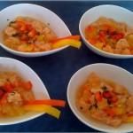 Ceviche saumon aux 3 agrumes