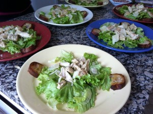 Caesar salade