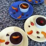 Crèmes aux oeufs au chocolat