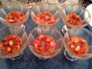 soupe de fraises